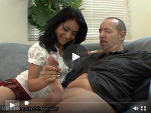 Hairy Latina Schoolgirl Wants Old Teachers Dick video porno